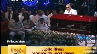 Funeral Jenni Rivera - Lupillo Rivera Rompe En Llanto Mientras Habla De Su Hermana (emotivo)