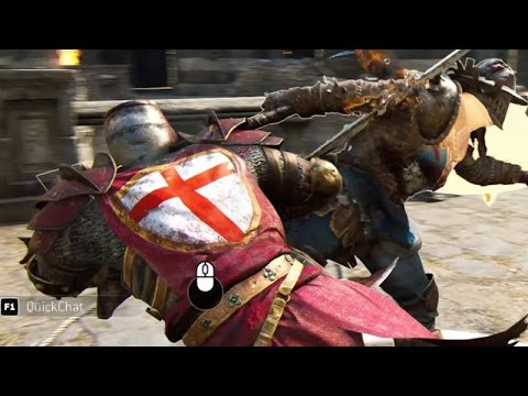 For Honor Knight Gameplay - Warden Highlights