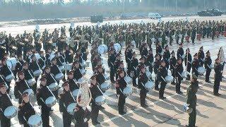 Russian Army Parade Drill Show (Platz Concert) 2018