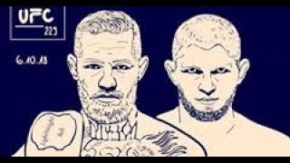 Conor McGregor & Khabib Nurmagomedov  - Face Off, Altercation UFC 229