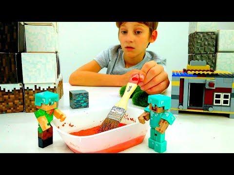 Видео обзор Minecraft. Звонок для майнкрафт дома Стива!