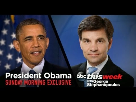 President Obama on Syria, America Economy: ABCNews 'This Week' Exclusive Interview - Full