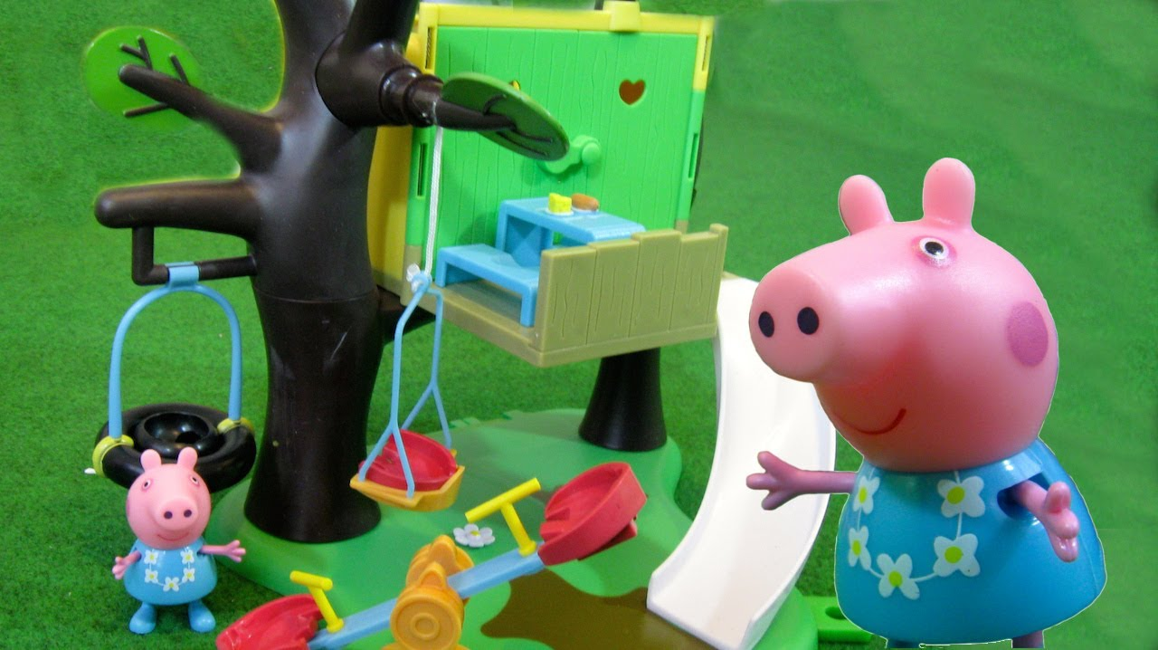 Peppa pig casa del arbol juguetes de peppa pig youtube - Peppa pig la casa del arbol ...