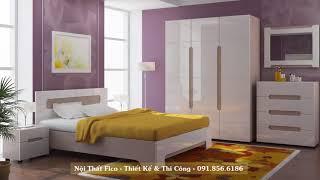 Các mẫu phòng ngủ màu sắc phối hợp hài hòa