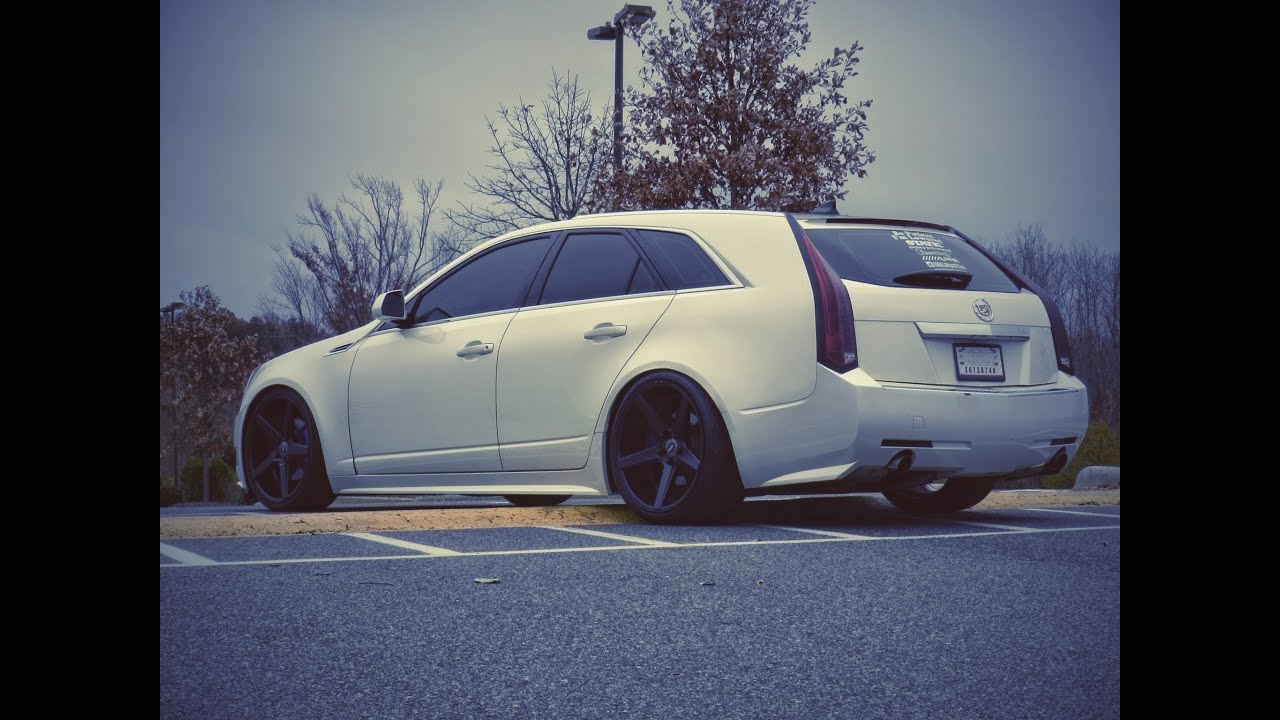 2010 Cadillac CTS Wagon 30 Direct Injection Custom Mods