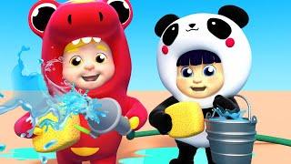 Car Wash Song For kids  Mainan dan lagu anak-anak الحروف الانجليزية للاطفال العاب اطفال  - One Zeez