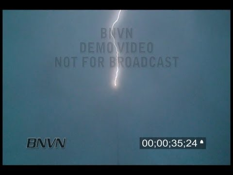 6/11/2010 Antenna Lightning Strike