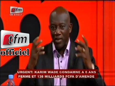 Réaction de Serigne Mbacké Ndiaye (PDS) après le verdict de Karim Wade