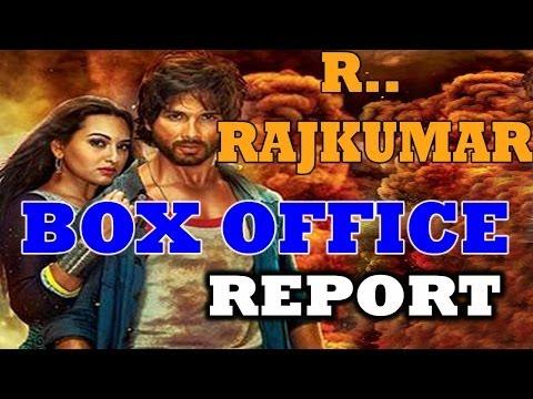 R..Rajkumar - BOX OFFICE REPORT - Bollywood