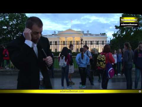 Secret Service Officer chooses NOT to arrest Adam Kokesh