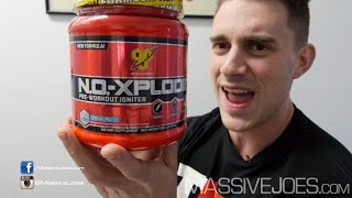 BSN New N.O.-Xplode 2014 3.0 Pre-Workout Supplement - MassiveJoes.com RAW REVIEW NO-Xplode Explode