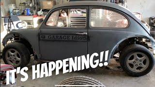 GAME PLAN! Honda Bug  progress on the SW20 MR2 Chassis!