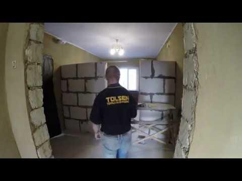Частный дом - ремонт день #130 Всё тот же газобетон