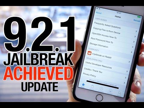 IOS 9.2.1 Jailbreak Achieved! IOS 9.2 & 9.2.1 Jailbreak Update