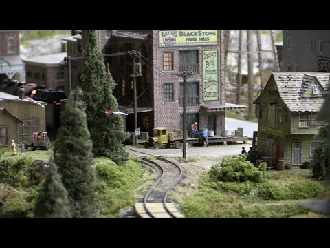 PENNSY LAYOUT PART 36 Steam H10 Local delivery Part 1