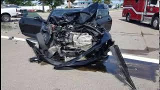 Video: Crash on U.S. 41 in venice