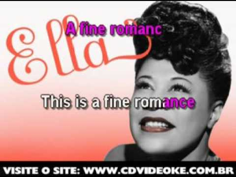 Ella Fitzgerald   Fine Romance, A