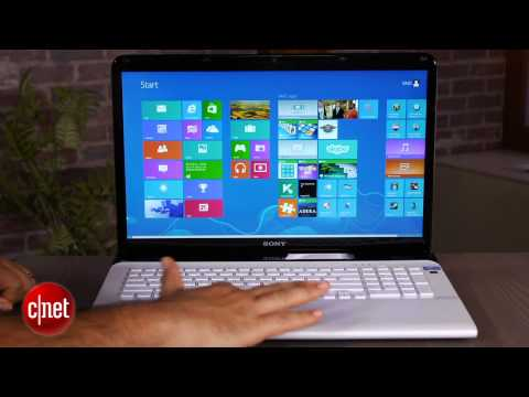 Sony Vaio E17 and Windows 8: no touching