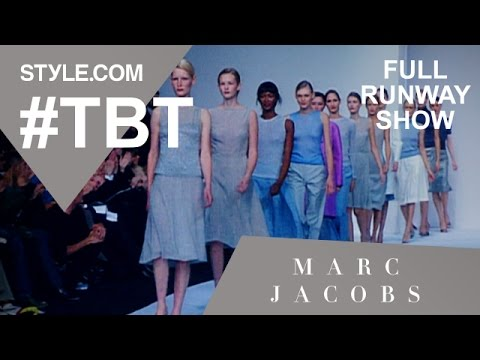 Marc Jacobs' Spring 1998 Full Runway Show - #TBT with Tim Blanks - Style.com