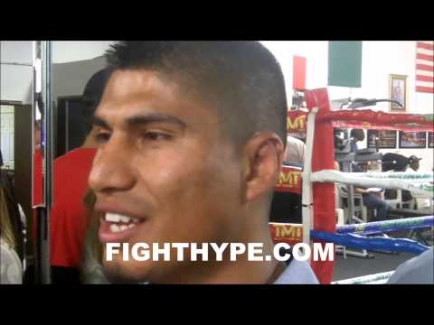 MIKEY GARCIA INVITED TO FLOYD MAYWEATHER MEDIA WORKOUT THE DAY AFTER SPARRING WITH MARCOS MAIDANA