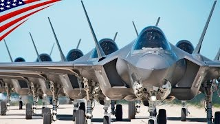 US Military's Largest F-35 Stealth Fighter Jet Deployment Exercise - 米軍史上最大の最新鋭ステルス戦闘機F-35の展開演習