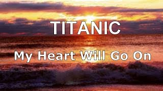 TITANIC MY HEART WILL GO ON Piano Relaxing Music | Sleep Music | Instrumental Music | Calming Music