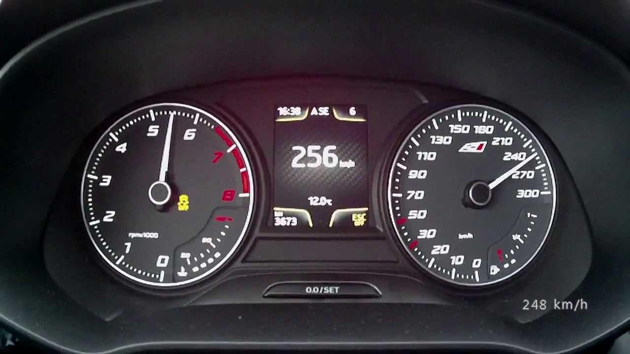 Seat leon cupra 2014 280 ps version acceleration 0 250 for Interieur seat ibiza cupra