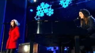 Ingrid Michaelson Sarah Bareilles Winter Song White House National Tree Lighting 2010