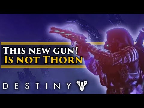 Destiny 2 Forsaken - This new Exotic Hand cannon IS NOT THORN! OR ROSE! thumbnail