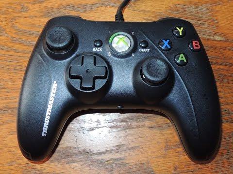 Gamepad GPX Thrustmaster para PC y Xbox 360 Unboxing y review en español