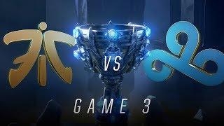 FNC vs C9   Semifinal Game 3   World Championship   Fnatic vs Cloud9 (2018)