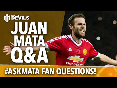 Juan Mata Q&A! #AskMata | Juan Answers Fan Questions! | Manchester United