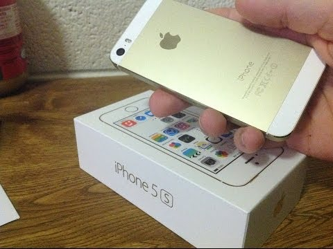Iphone 5s Gold Unbox Iphone 5s Review Gold Version