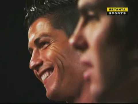 UEFA CL Magazine Show Kaka & Ronaldo Interview Clip