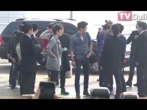 08032013-super Junior 印尼(jakarta)之行(airport) video