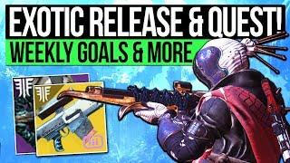 Destiny 2 News   PS EXCLUSIVES & NEW EXOTIC! Monthly Milestones, Xbox Borealis, Exotic Quest & More!