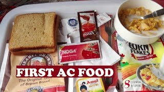 1st AC Food New Delhi Bhopal Shatabdi