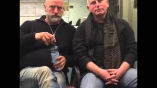 Watch Gary Lewis and Graham McTavish LIVE from the Outlander set!