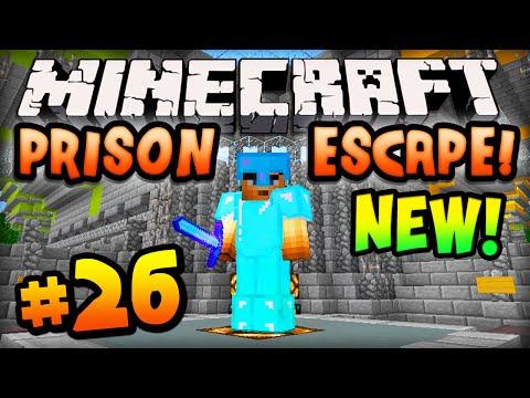 Minecraft PRISON ESCAPE Episode #26 w Ali A NEW AREA