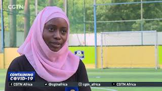 Oyster Bay Soccer centre in Tanzania paralysed by pandemic