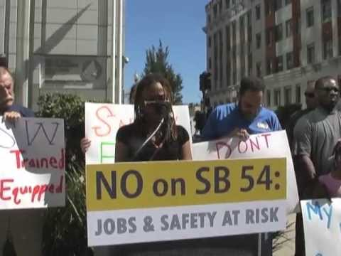 USW Charges Lonie Hancock's SB54 Threatens Health & Safety In Refineries And Will Cost Jobs
