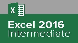 Excel 2016 Intermediate