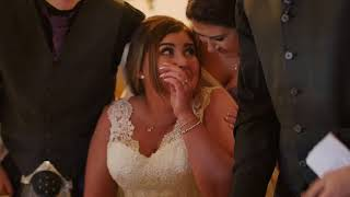 Bride Surprised With Puppy at Wedding