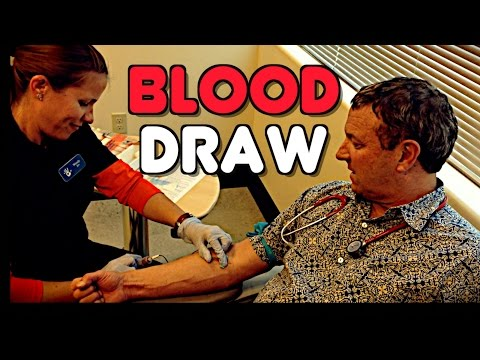 DO BLOOD DRAWS HURT?  Dr. Paul Gets POKED to Find Out!