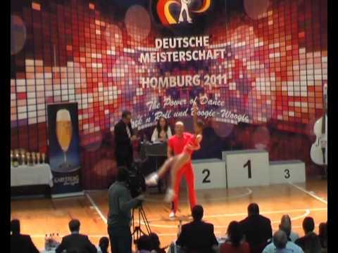 Carolin Scherl & Benjamin Federl - Deutsche Meisterschaft 2011