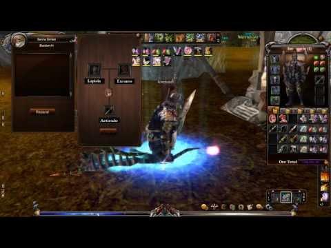 Como hacer brillar las armas en Fusion Shaiya (ENCANTAR)