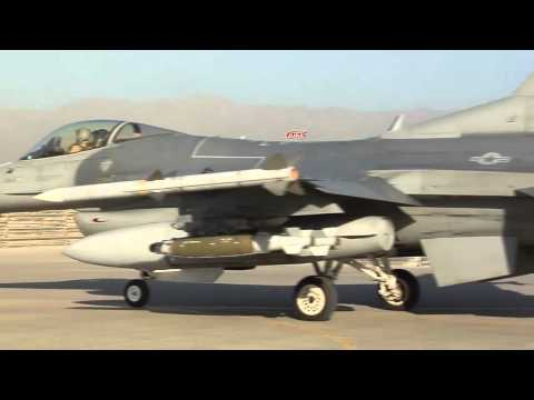 AFGHANISTAN!  F-16 Fighting Falcons at Bagram Airfield!