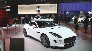 2015 Jaguar F-Type Coupe – 2013 LA Auto Show