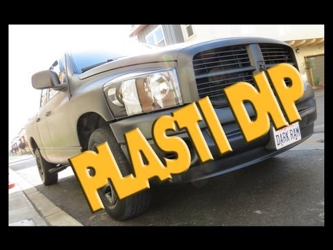Dodge Ram - PlastiDip Whole Car Truck [How-To] - Matte Black