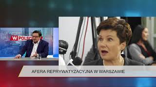 Janecki: Reprywatyzacja w Warszawie to przykład nie państwa teoretycznego, a skorumpowanego